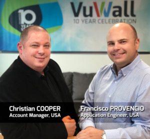 Christian Cooper and Francisco Provencio