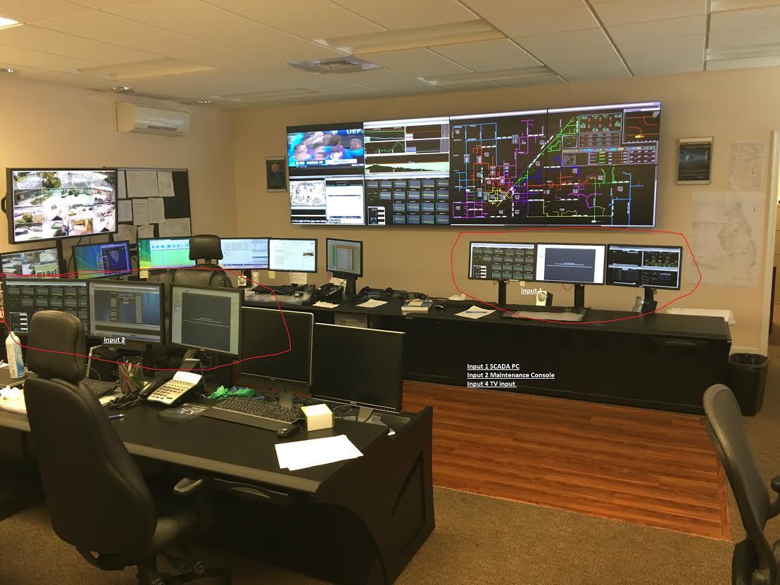 City of Homestead Florida Control Room