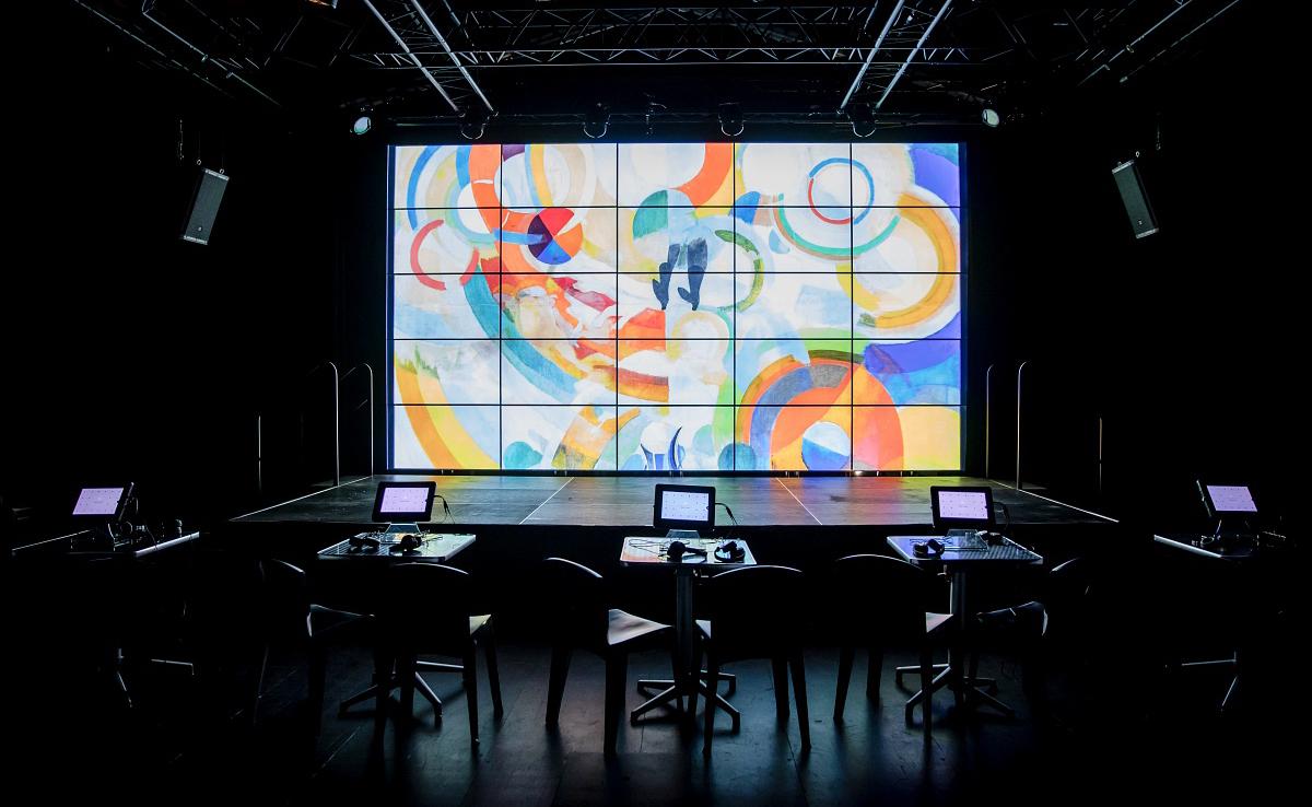 La Vilette Paris Microfollies de Sevran Presentation Room