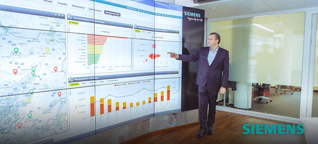 Siemens Video Wall