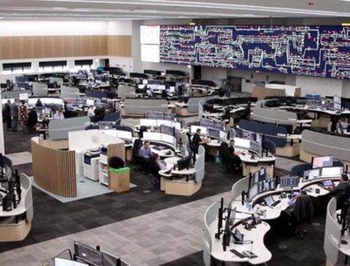 Sydney Rail Operations Room